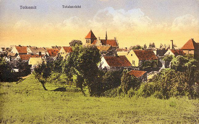 Город Толькемит с немецкой довоенной открытки. Ныне это польский город Толькмицко.