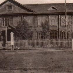 А это, кстати, школа, в которой я учился. Фото 60-х годов