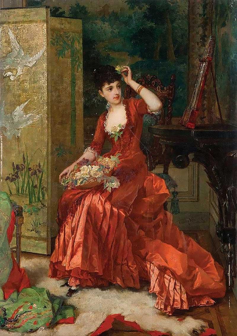 6.Бельгийский художник Frans Verhas (1827 1897)