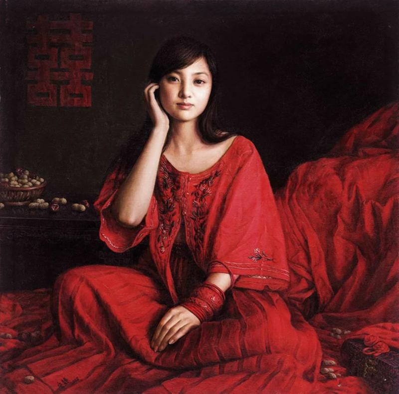 9.Ань Цзин китайская художница, член Китайского общества живописи маслом и Союза художников Пекина