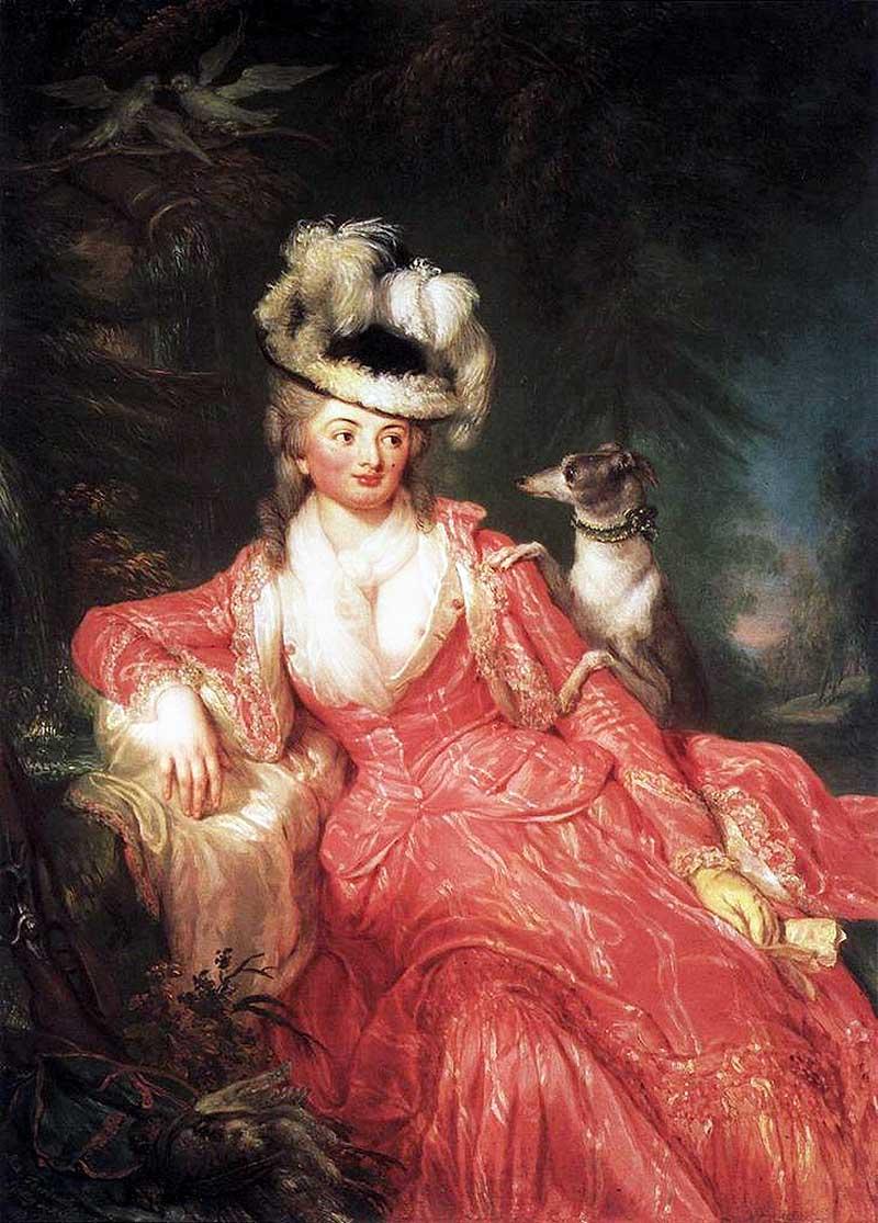 Анна Доротея Тербуш (нем. Anna Dorothea Therbusch), урождённая Анна Доротея Лисиевская ( 23 июля 172