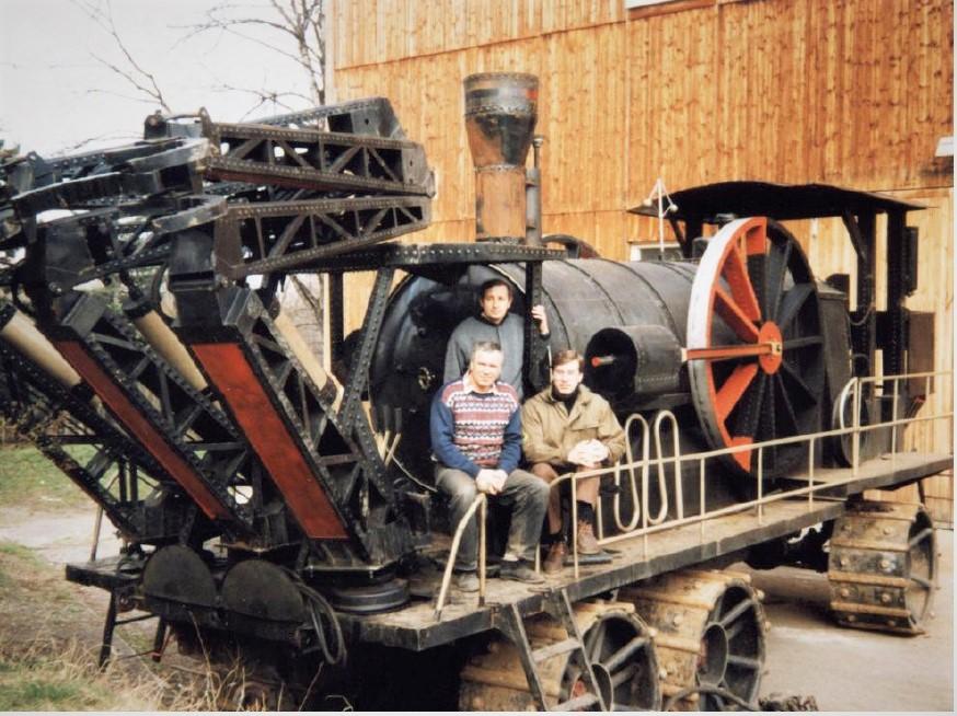 Паровая самоходная лесопилка, созданная на нашем заводе для кинофильма «Сибирский цирюльник».