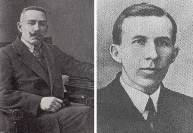 Кайяц Александр Васильевич (фото слева). Кайяц Евгений Александрович (фото справа). Из Интернета.