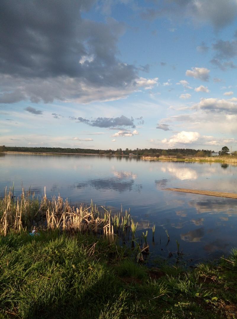 фото: озеро на Торфяном. Автор фото: Мария ЗЕЛЕНКЕВИЧ, 15 лет, п. Пижма.