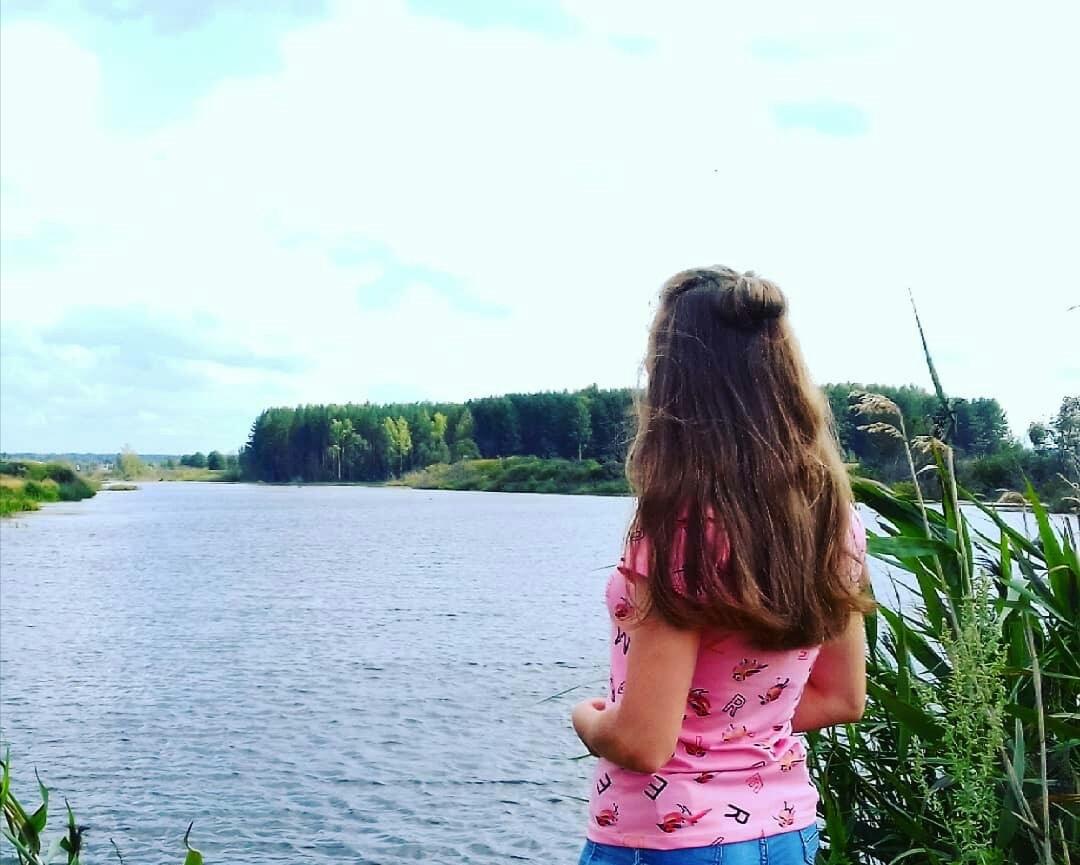 фото: река Икра в моей деревне. Автор фото: Юлия Сергеевна ДУПЛЯКОВА, 24 года, д. Сухой Овраг.