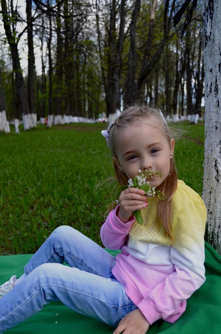 фото: запах весны. Автор фото: Яна ДЕМИНА, 4 года, п. Тоншаево.