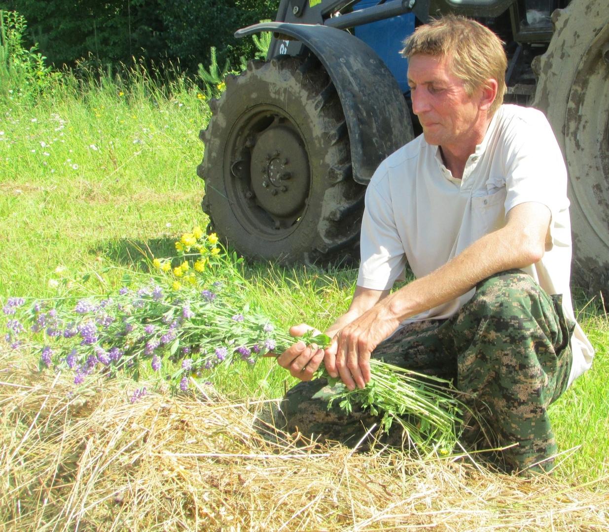 В крестьянско-фермерском хозяйстве Александра Павловича Березина