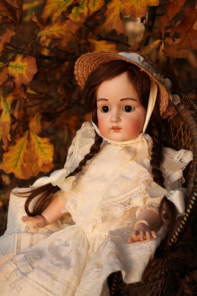 Антикварная кукла Кестнер 215 молд