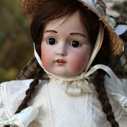 Антикварная кукла фабрики Кестнер 215 молд