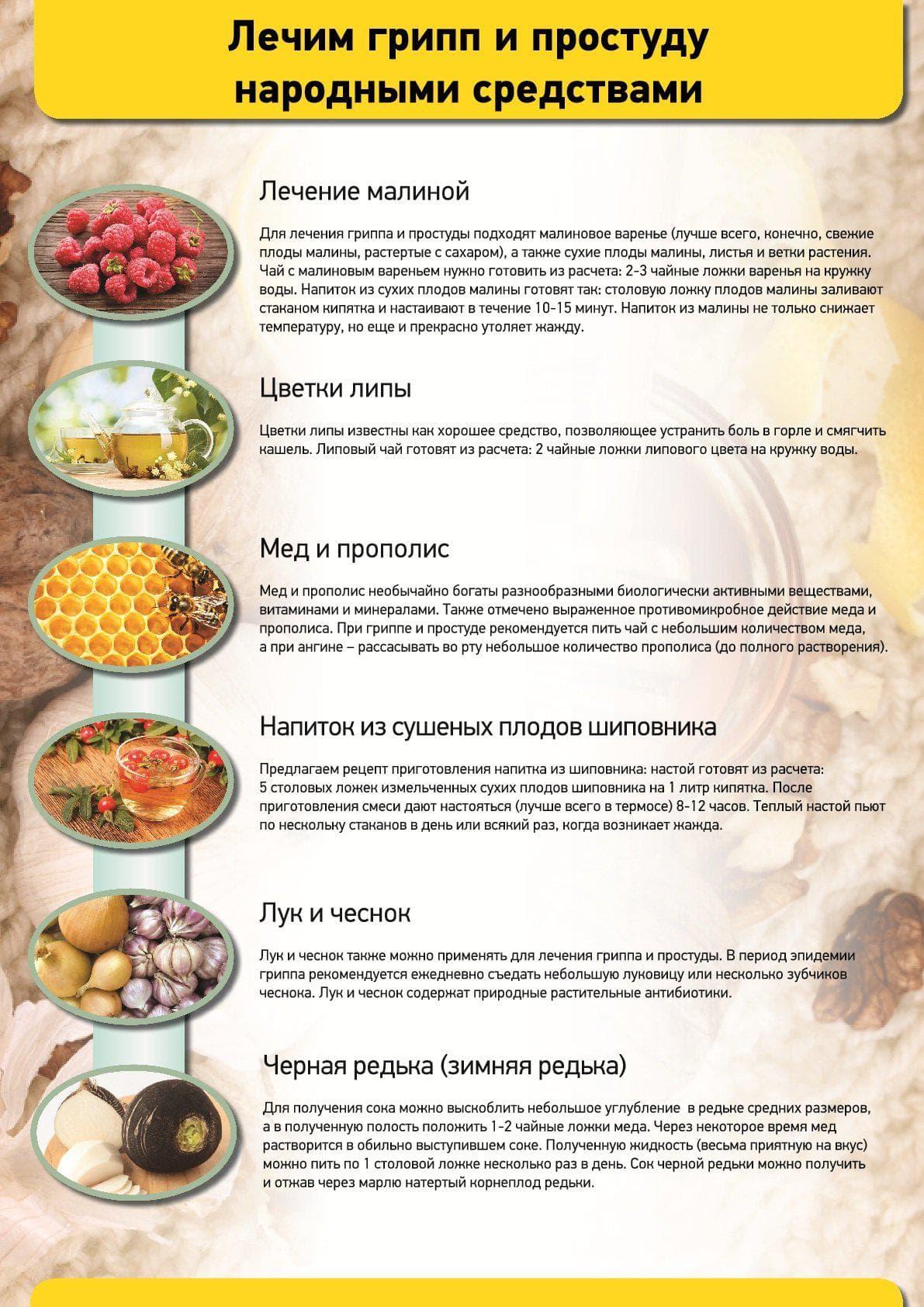 Натуральные средства для лечения простуды и гриппа5