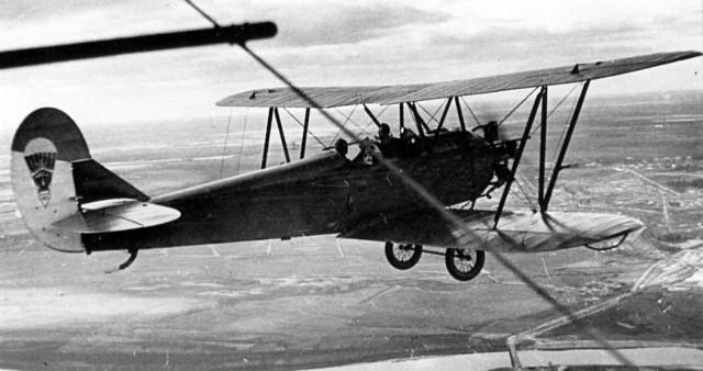 Самолет У-2 Поликарпова. Фото из интернета. На таком отец учился летать.