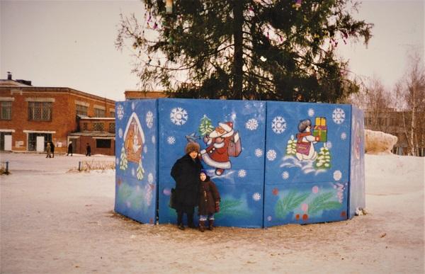Илья с бабушкой Олей