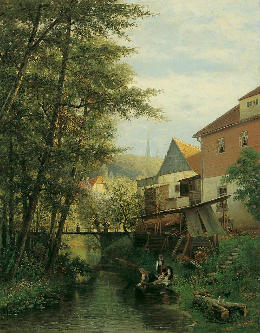 Lempertz-880-1492-Alte-Kunst-Jacobus-Johannes-van-Poorten-WAeSCHERINNEN-AM-BACH.jpg