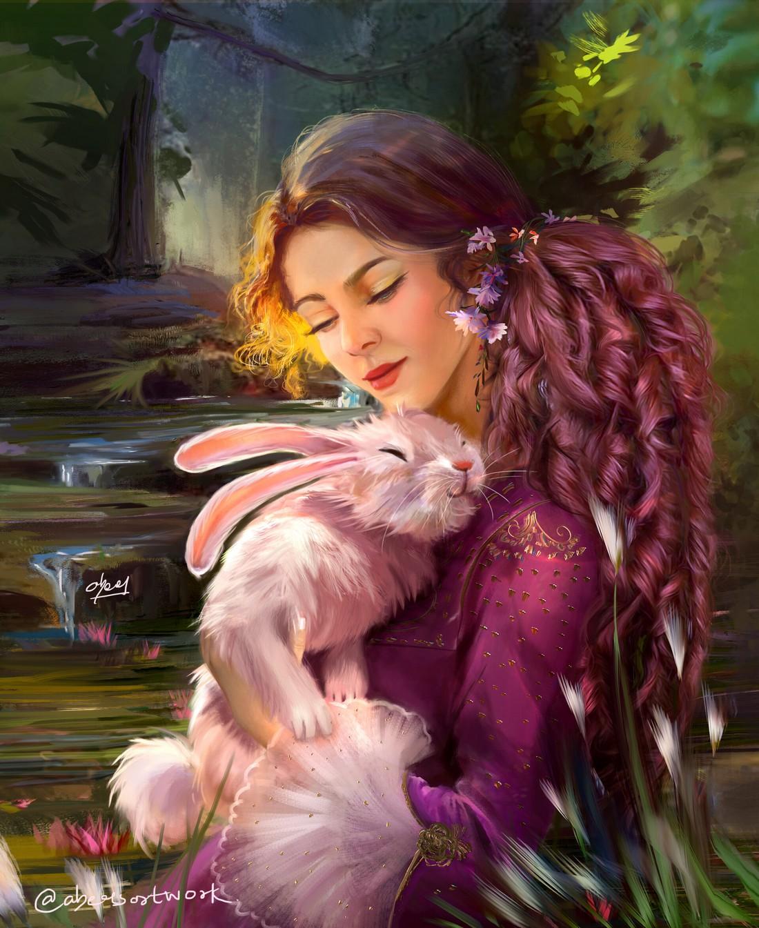 abeer malik bunny hug