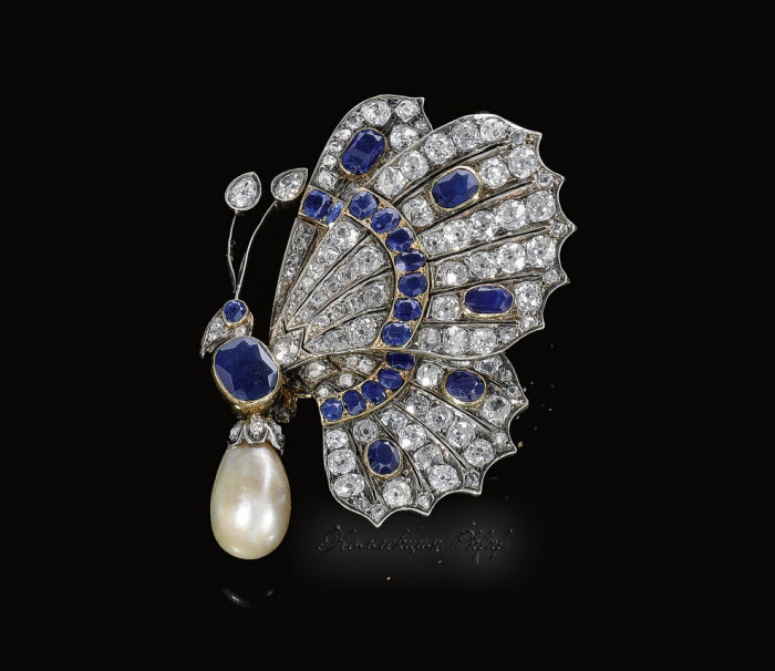 PROPERTY-FROM-THE-ESTATE-OF-THE-LATE-PRINCE-KINSKY-CONTINUED-NATURAL-PEARL-SAPPHIRE-AND-DIAMOND-BROOCH.jpg