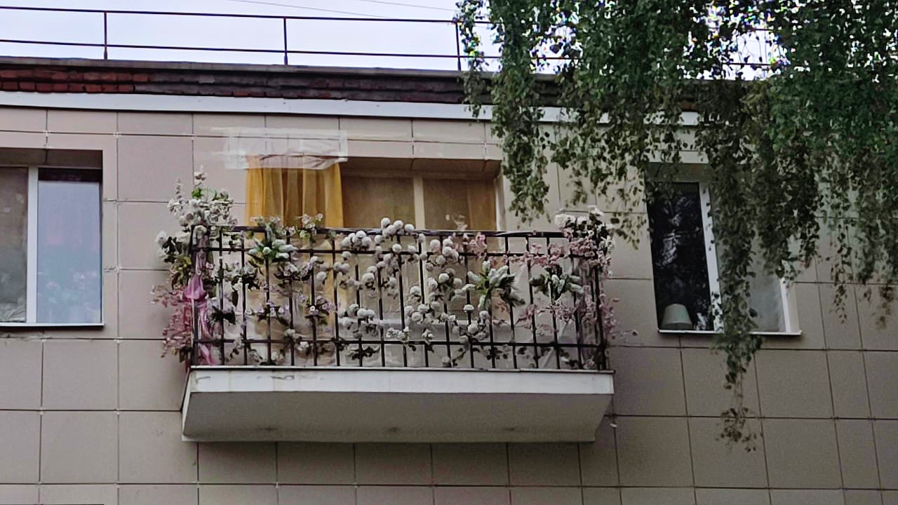 Балкон подмосковной Джульетты