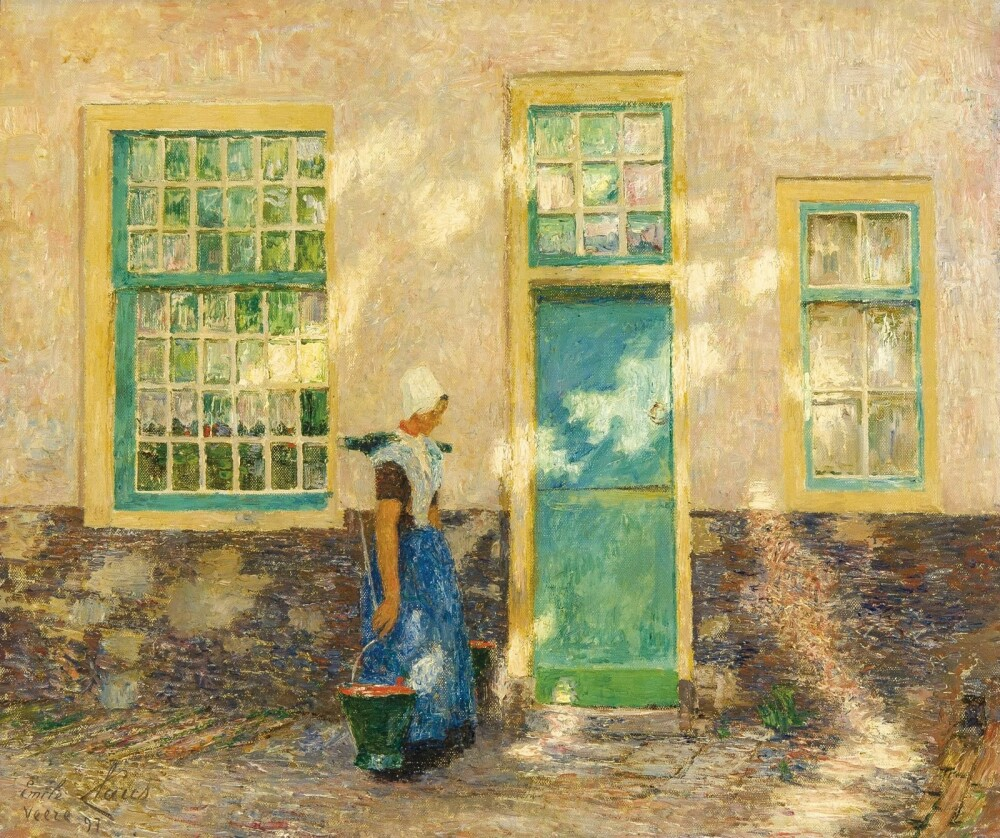 Emile-Claus-Het-maartje-Veere-1897-1897